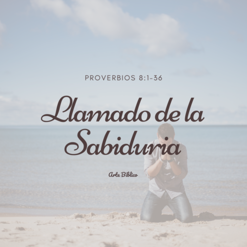 Devocional Diario Proverbios 8