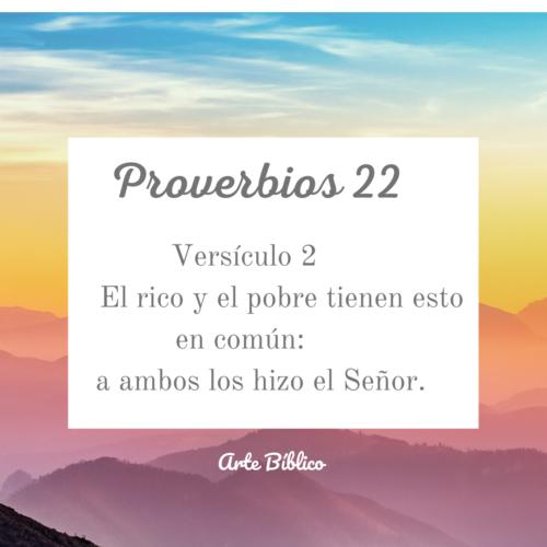 Devocional diario proverbios 22