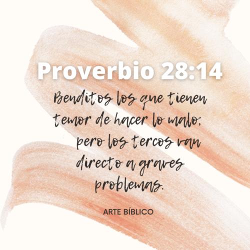 Devocional Diario Proverbio 28