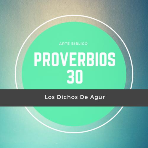 Devocional Diario Proverbio 30