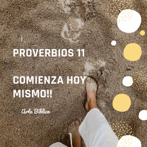Devocional diario proverbios 11